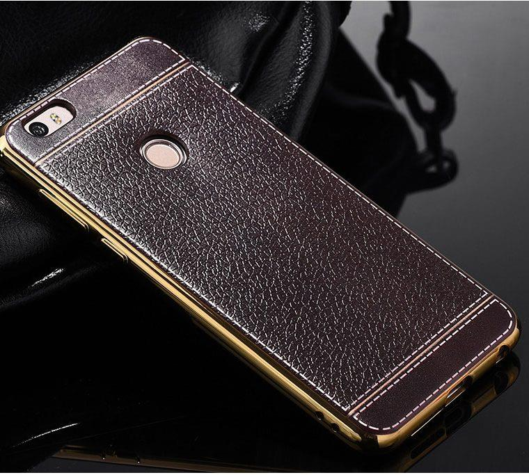 Vivo & Huawei Silicone Case Leather Pattern