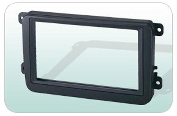 VOLKSWAGEN CADDY 2005-09 Double Din Player Casing Panel [BN-25F53094]