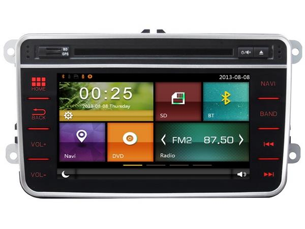 VOLKSWAGEN DYNAVIN 7' Double Din TouchPanel Mirror Link GPS DVD Player