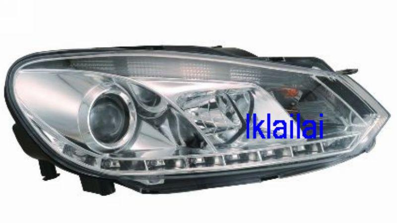 Volkswagen Golf 6 '08 Projector Head Lamp R8 DRL
