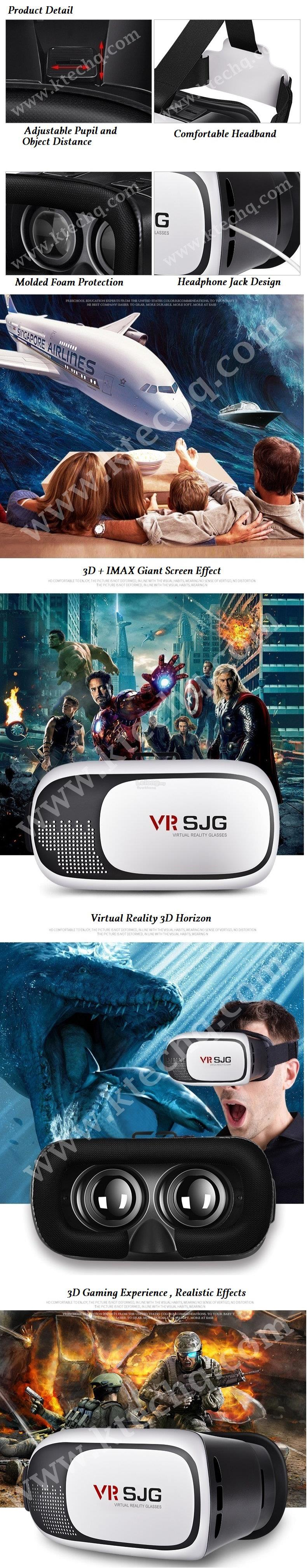 VR Glasses 3D Virtual Reality Cinema Intelligence Gaming Video Glasses