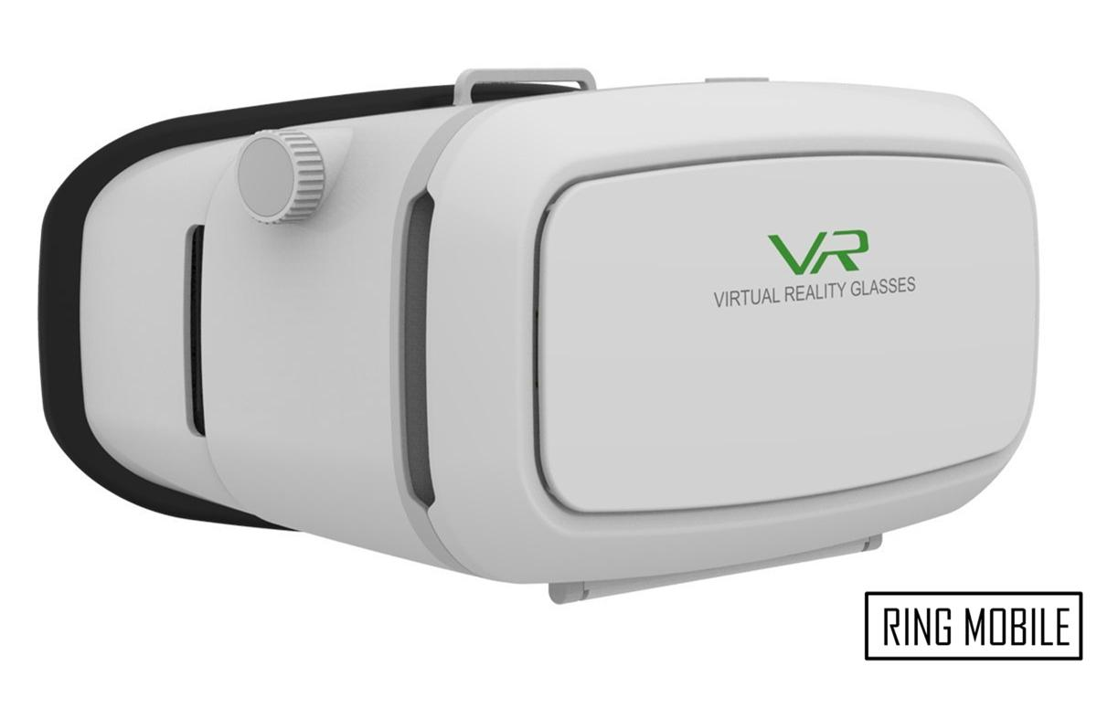 VR Shinecon Virtual Reality Headset 3D Glasses / White - Original
