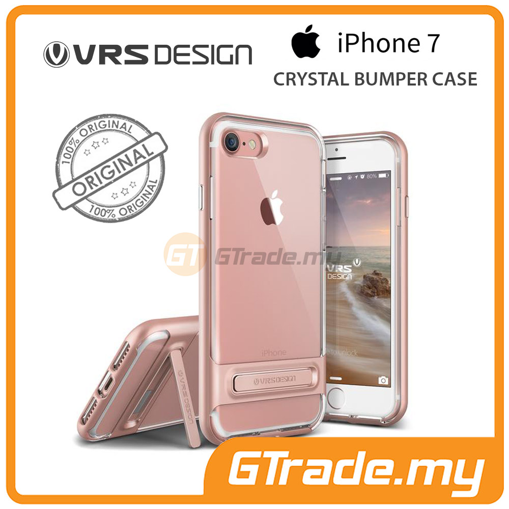 VRS DESIGN Crystal Bumper Case | Apple iPhone 7 - Rose