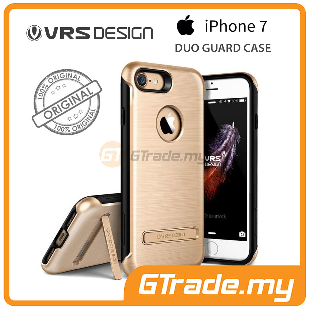 VRS DESIGN Duo Guard Rugged Case | Apple iPhone 7 - Gold