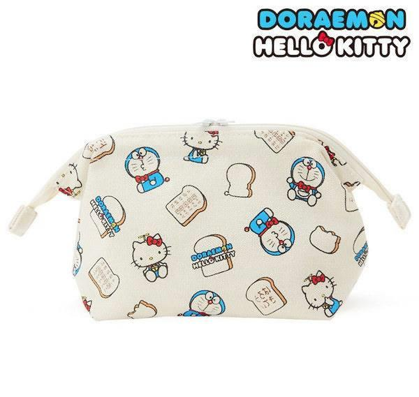 WA0126 HELLO KITTY X DORAEMON POUCH