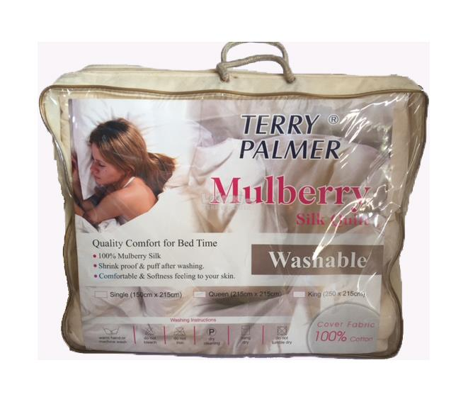 Washable Mulberry Silk Quilt - Queen