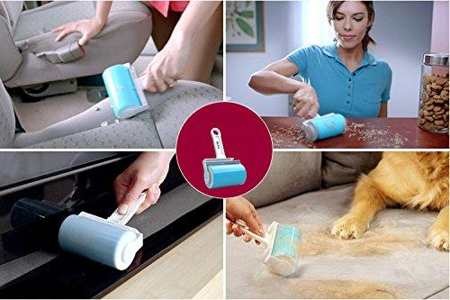 Washable Reusable Sticky Picker Cleaner Lint Roller Pet Hair Remover