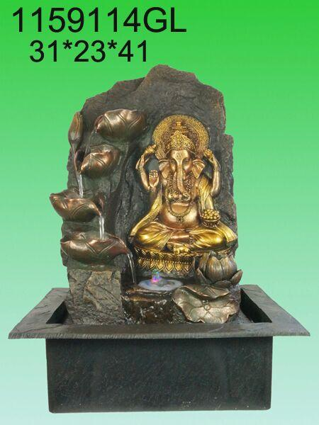 WATER FOUNTAIN -GANESHA LX1159114  FENG SHUI WATER FEATURES FOUNTAINS