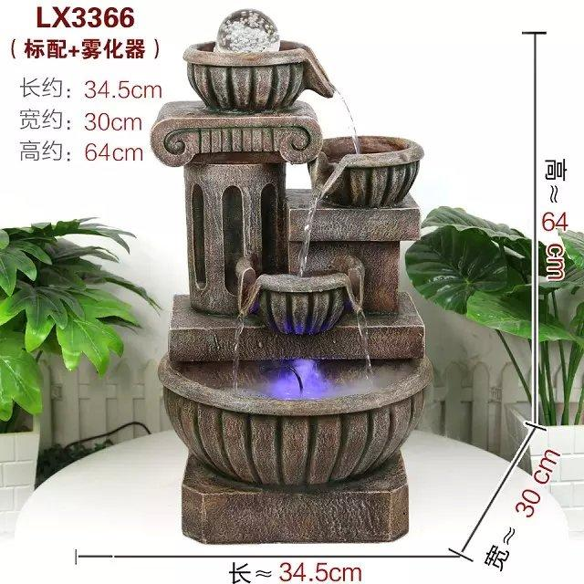 WATER FOUNTAIN LX3366 FENG SHUI WATER FEATURE HOME DECO GIFT