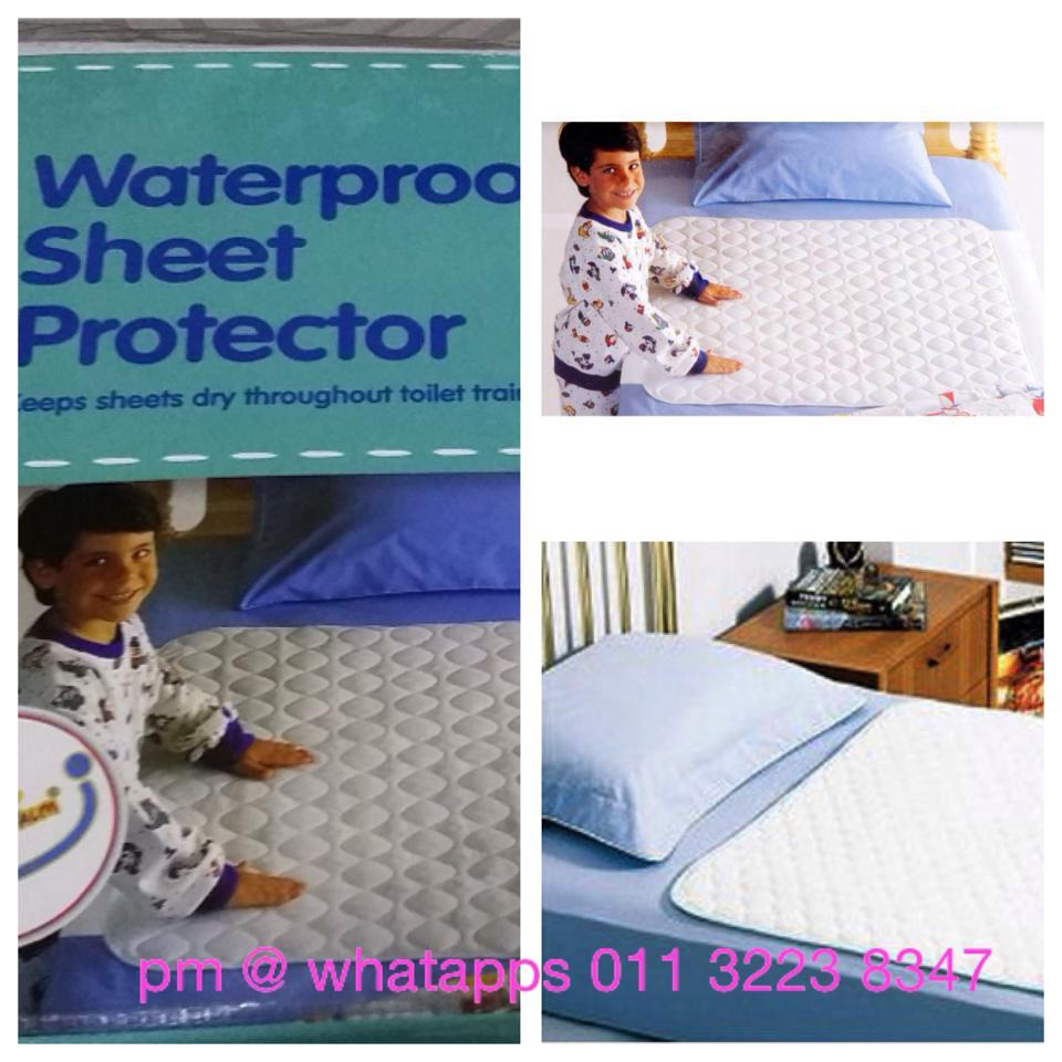 Waterproof Bed Sheet Protector 3 Layers Single Bedded