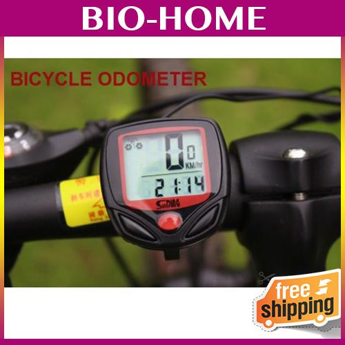 Waterproof Bicycle Odometer Speed Time Monitor Device Sport Machine G
