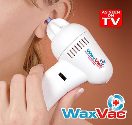 WaxVac Gentle and Effective Ear Cleaner Save & Easy