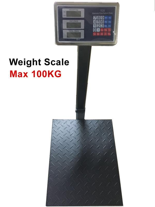 Weight Scale weighting 100kg on Parcel Box for factory and office (Ful