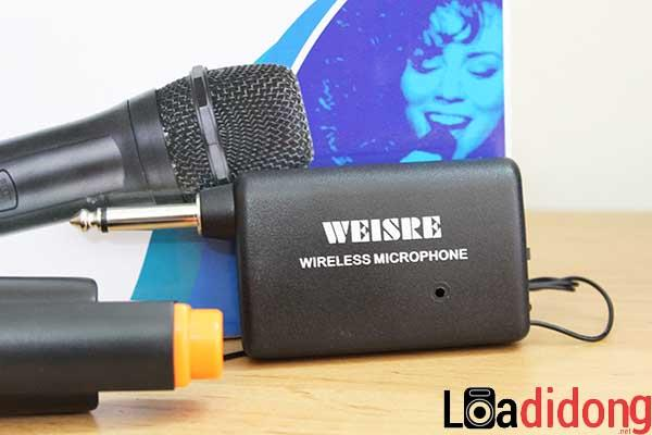 WEISRE WIRELESS MICROPHONE SYSTEM DM-3308A