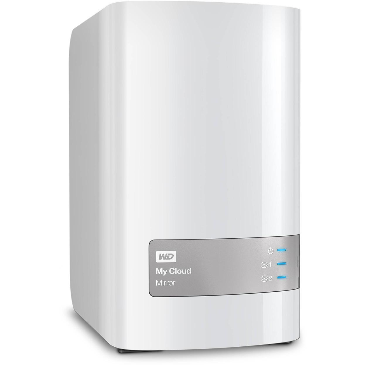WESTERN DIGITAL MY CLOUD MIRROR (GEN 2) 4TB (WDBWVZ0040JWT)