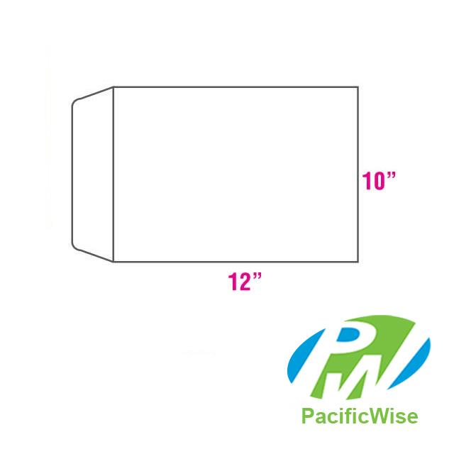 White Envelope 12' X 10' (250 pcs)