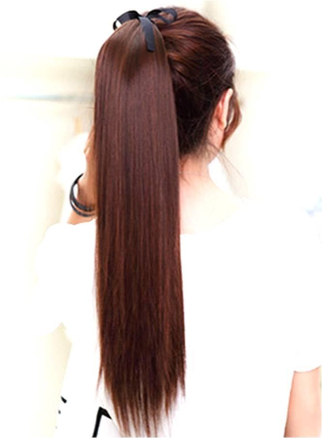 Wig Extension Pony tail z2a 60cm straight/ ready stock