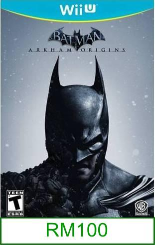 Wii-U Batman Arkham Origins [US/Asia] ★Brand New & Sealed★