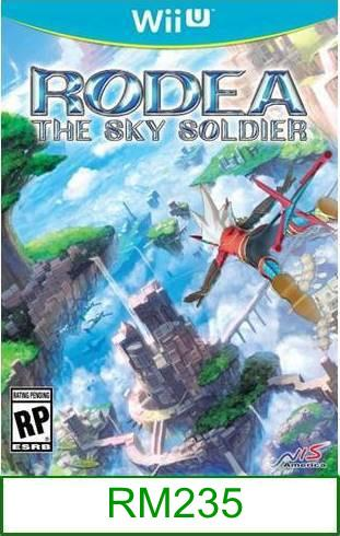 Wii-U Rodea the Sky Soldier [US/Asia] ★Brand New & Sealed★