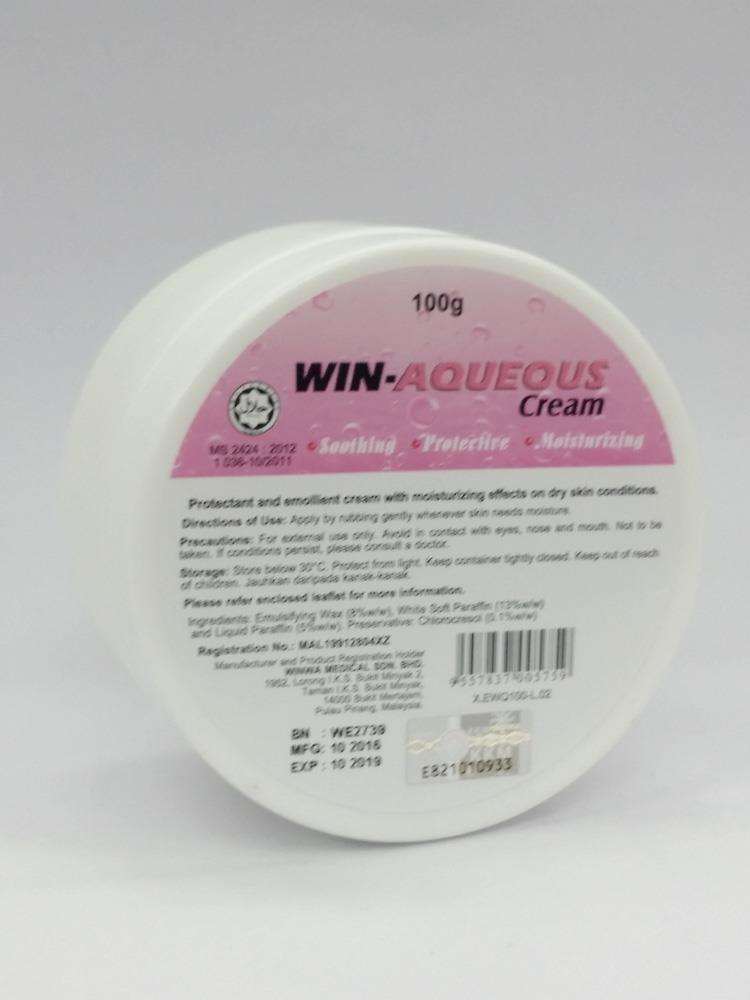 Win Aqueous Cream 100g , for Dry Skin