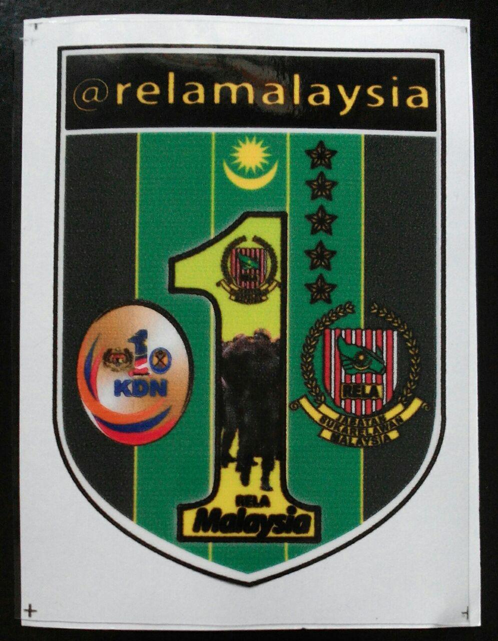 Windscreen Sticker KDN RELA Latest