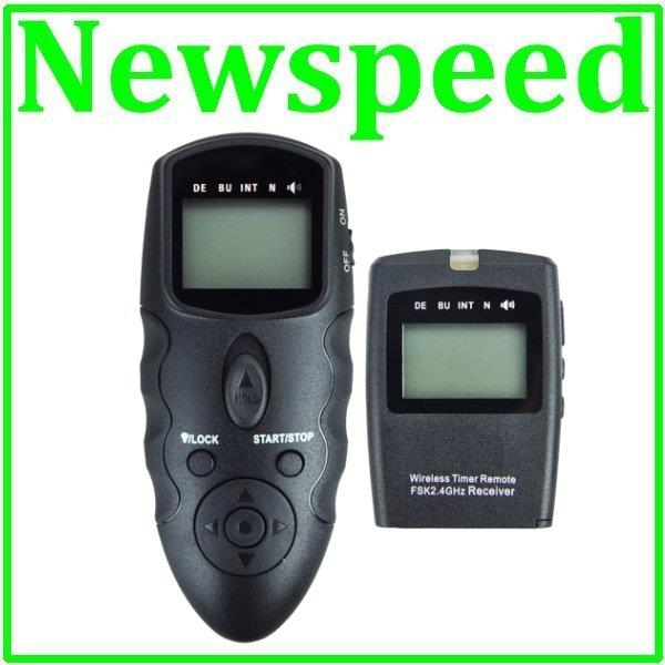 Wireless Intervalometer Timer Remote for Nikon D300s D300 D200 D3 D2