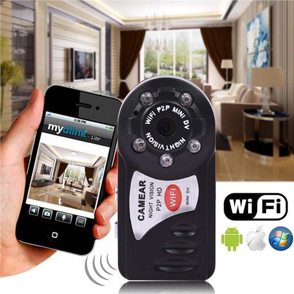 Wireless WIFI P2P Mini Remote Surveillance Camera Security FOR Android