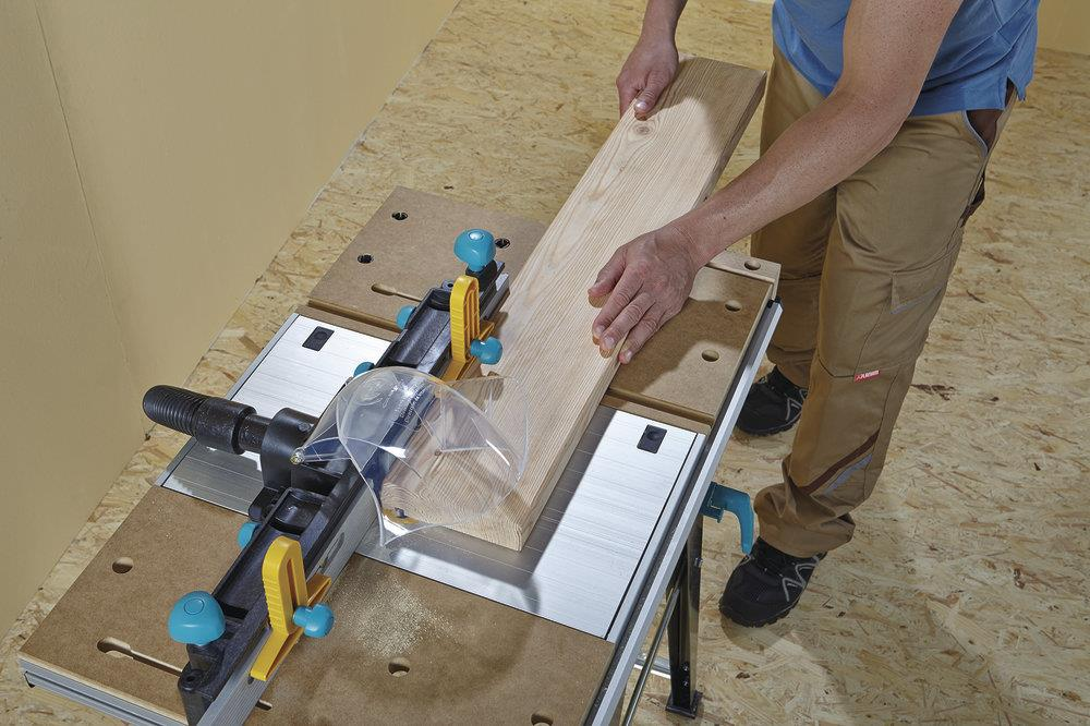 Wolfcraft MASTER Cut 1500 - Work and Machine Table