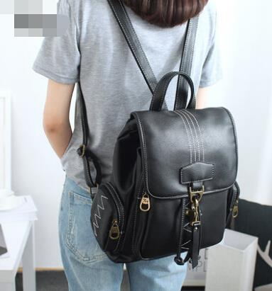 Women bag retro shoulder bag female backpack