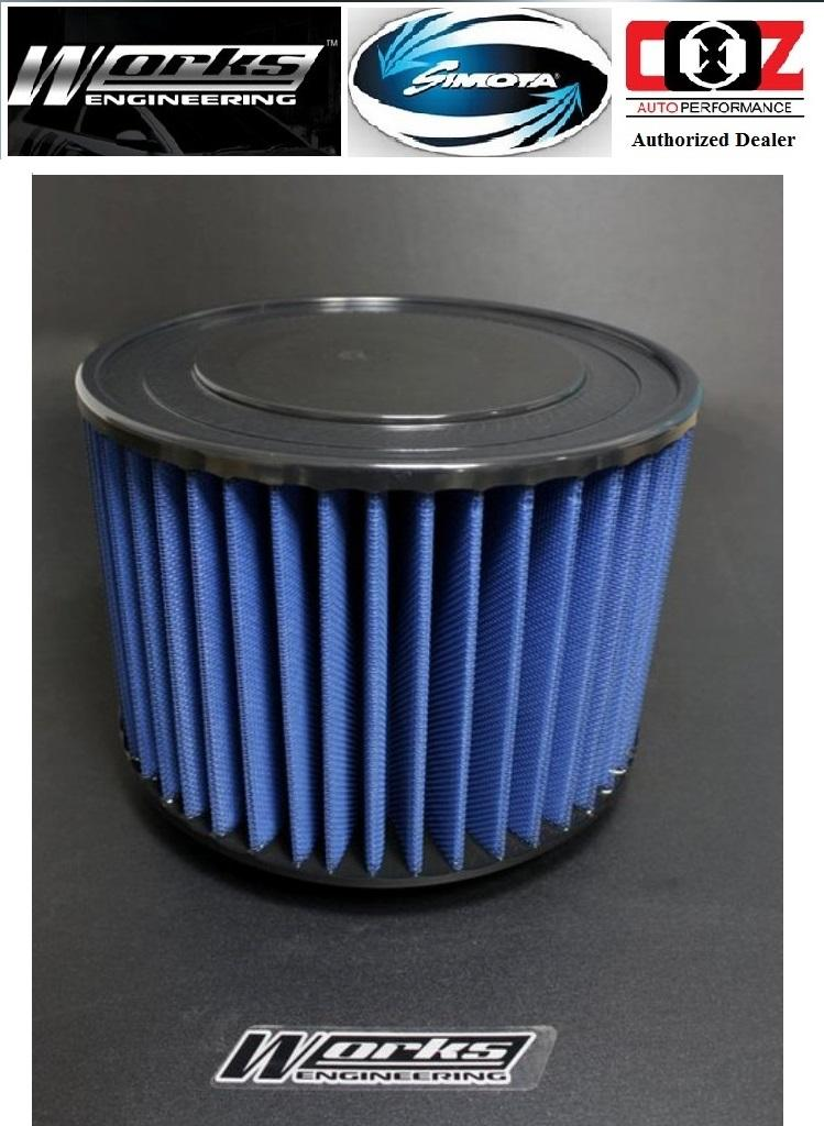 WORKS ENGINEERING DROP IN AIR FILTER TOYOTA INNOVA 2.0 HILUX 2.5 3.0