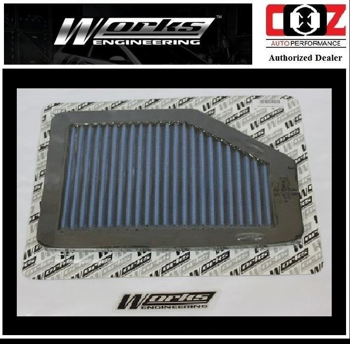 WORKS ENGINEERING SIMOTA DROP IN AIR FILTER HONDA CRV 2.0 L4 2007-2010