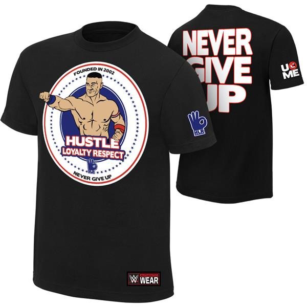 WWE John Cena Hustle Loyalty Respect T Shirt