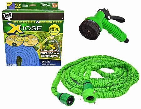 X HOSE 50ft Garden Hose Expanding end 10212016 615 PM
