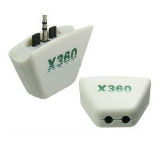 X360 Headset Earphone Converter Adapter for Xbox 360