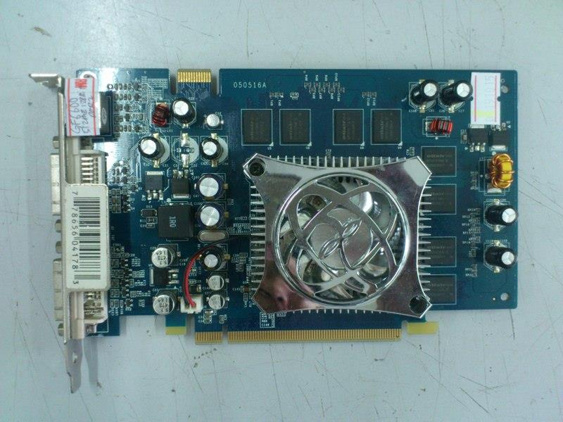 XFX GeForce 6600 512MB DDR2 PCI-E Graphic Card 301215