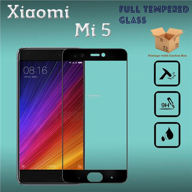 XiaoMi Mi5 Full Cover Tempered Glass Screen Protector