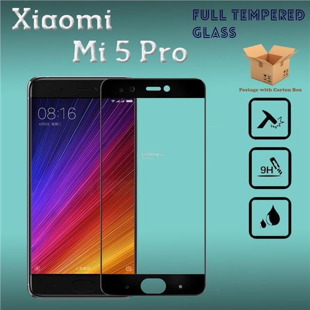 XiaoMi Mi5 Pro Full Cover Tempered Glass Screen Protector