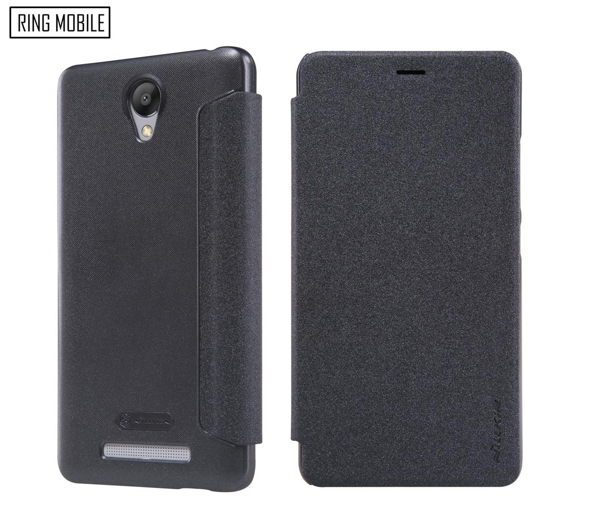 XiaoMi RedMi Note 2 Nillkin Sparkle series Leather Case - Black