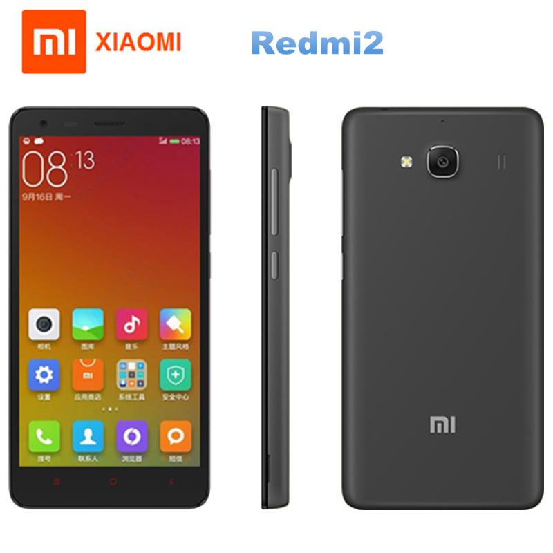 "Xiaomi Redmi2 Enhanced 4.7"" 4G LTE 2GB+16GB 8MP+2MP Dual SIM Grey"