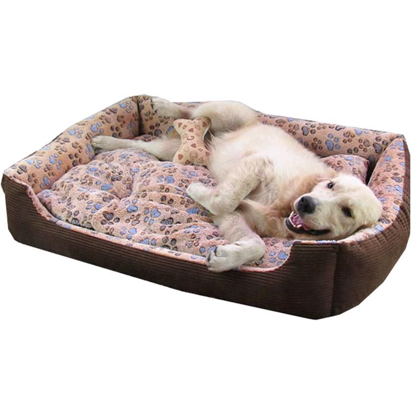 XL Size Super Comfy And Soft PAW Logo Pet Bed For Large Dogs