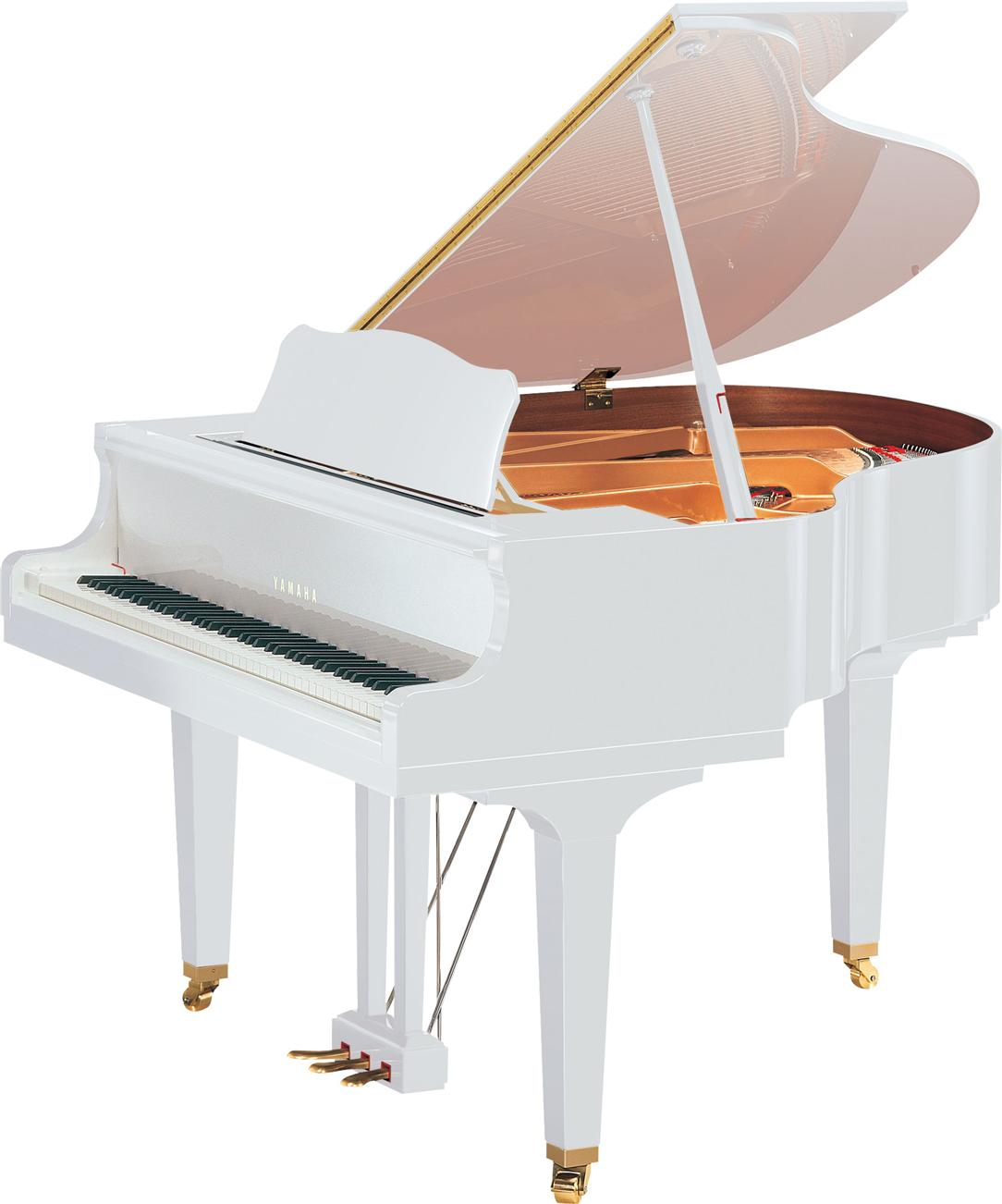 Yamaha Baby Grand Piano GB1K PWH GB1K-PWH GB-1K PWH POLISHED WHITE