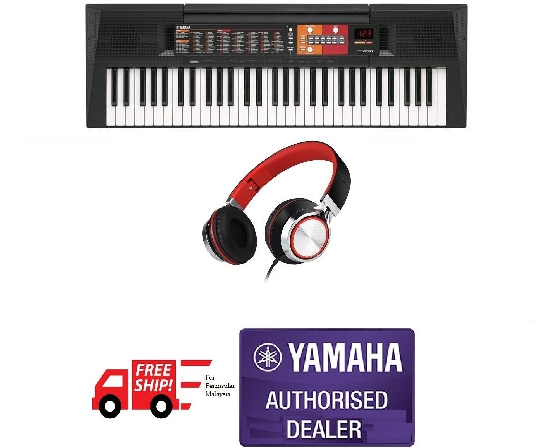 Yamaha Digital Keyboard PSR F51 61 keys (Free Shipping Peninsular)