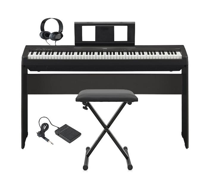 YAMAHA DIGITAL PIANO P-45 WITH FREE GIFT