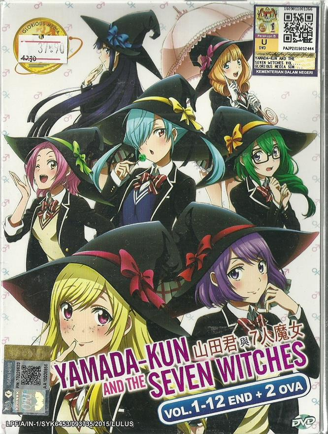 YAMANDA-KUN AND THE SEVEN WITCHES - ANIME TV SERIES (1-12 EPIS)