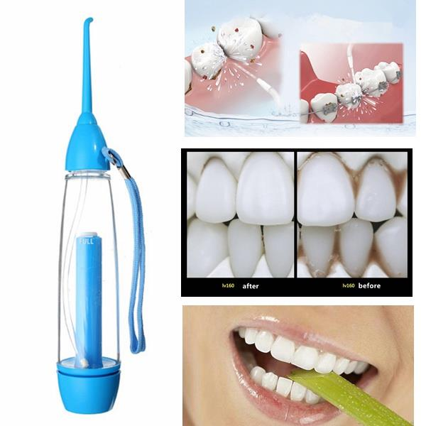 YAS Pneumatic Oral Irrigator Dental Water Jet Flosser Tooth Cleaning