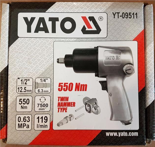 "Yato YT-09511 1/2"" Air Impact Wrench ID779707"