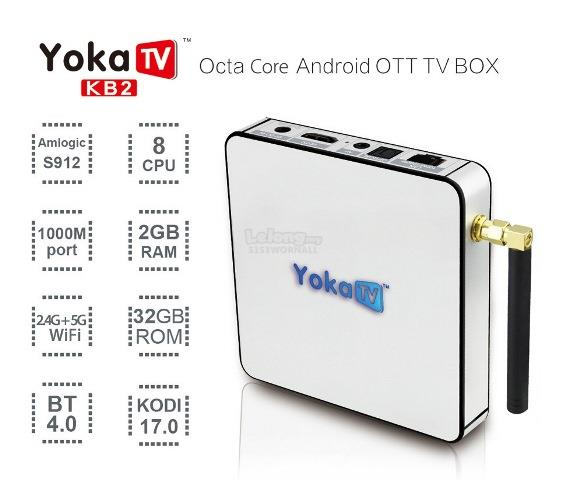Yoka TV KB2 Amlogic S912 TV Box FREE AIR MOUSE