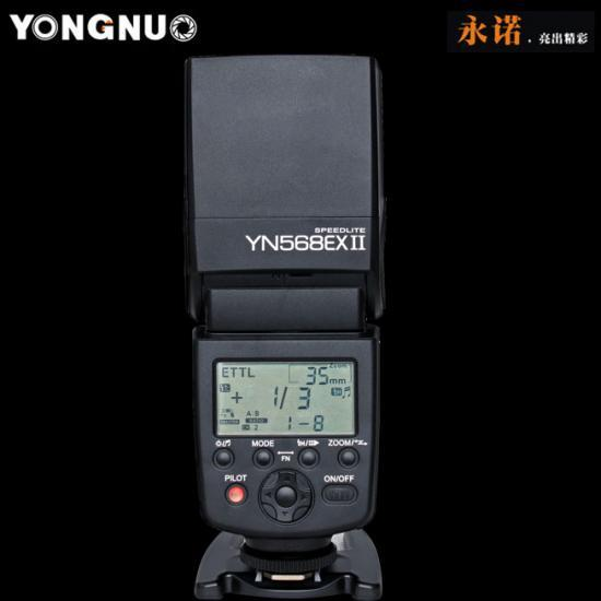 YongNuo YN568 II Canon TTL High Speed Sync Flash