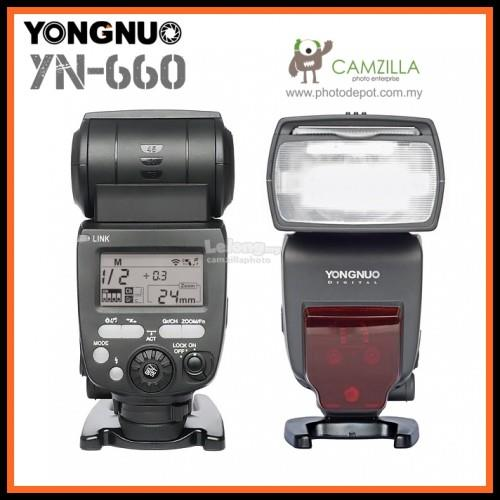 Yongnuo YN660 2.4GHz GN66 Wireless Flash