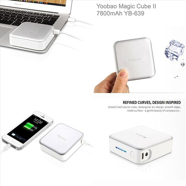 Yoobao Original YB-639 Magic Cube II 7800 mAh Power Bank - rmtlee